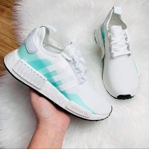 Adidas Originals NMD R1 Cloud White Clear Mint